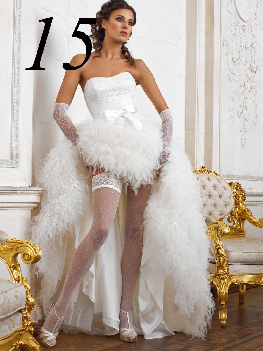 Под платьем у невест