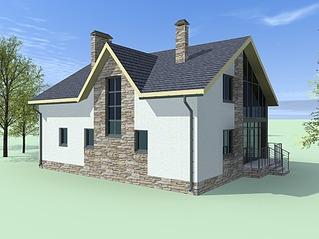 933 X 700 410.9 Kb Проекты уютных загородных домов