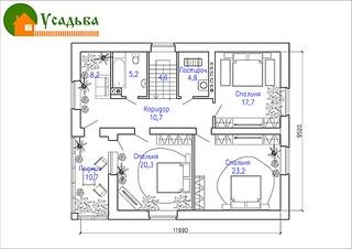 990 X 700 192.0 Kb 990 X 700 186.2 Kb Проекты уютных загородных домов