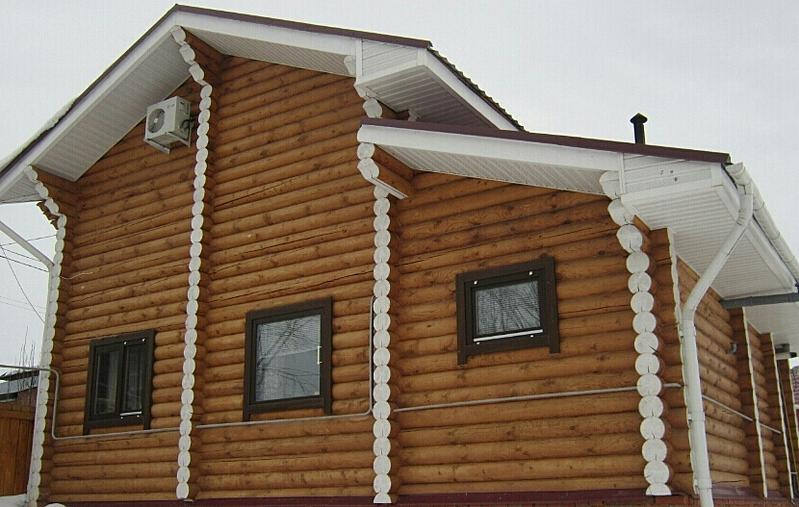 830 X 527 329.9 Kb Отделка деревянных домов: шлифовка,покраска,конопатка,теплый шов (фото).