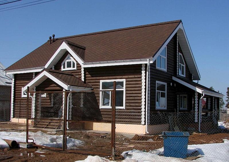 868 X 616 416.5 Kb Отделка деревянных домов: шлифовка,покраска,конопатка,теплый шов (фото).