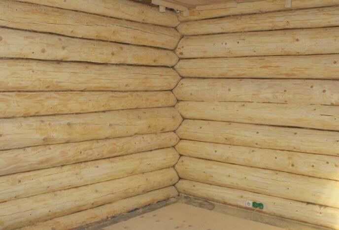 688 x 467 Отделка деревянных домов: шлифовка,покраска,конопатка,теплый шов (фото).