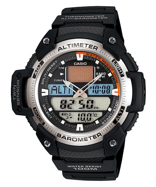 500 x 600 Часы CASIO DW290-1V 200м Casio SGW400H-1BV Барометр Температура CASIO AQW101-1AV РЫБА