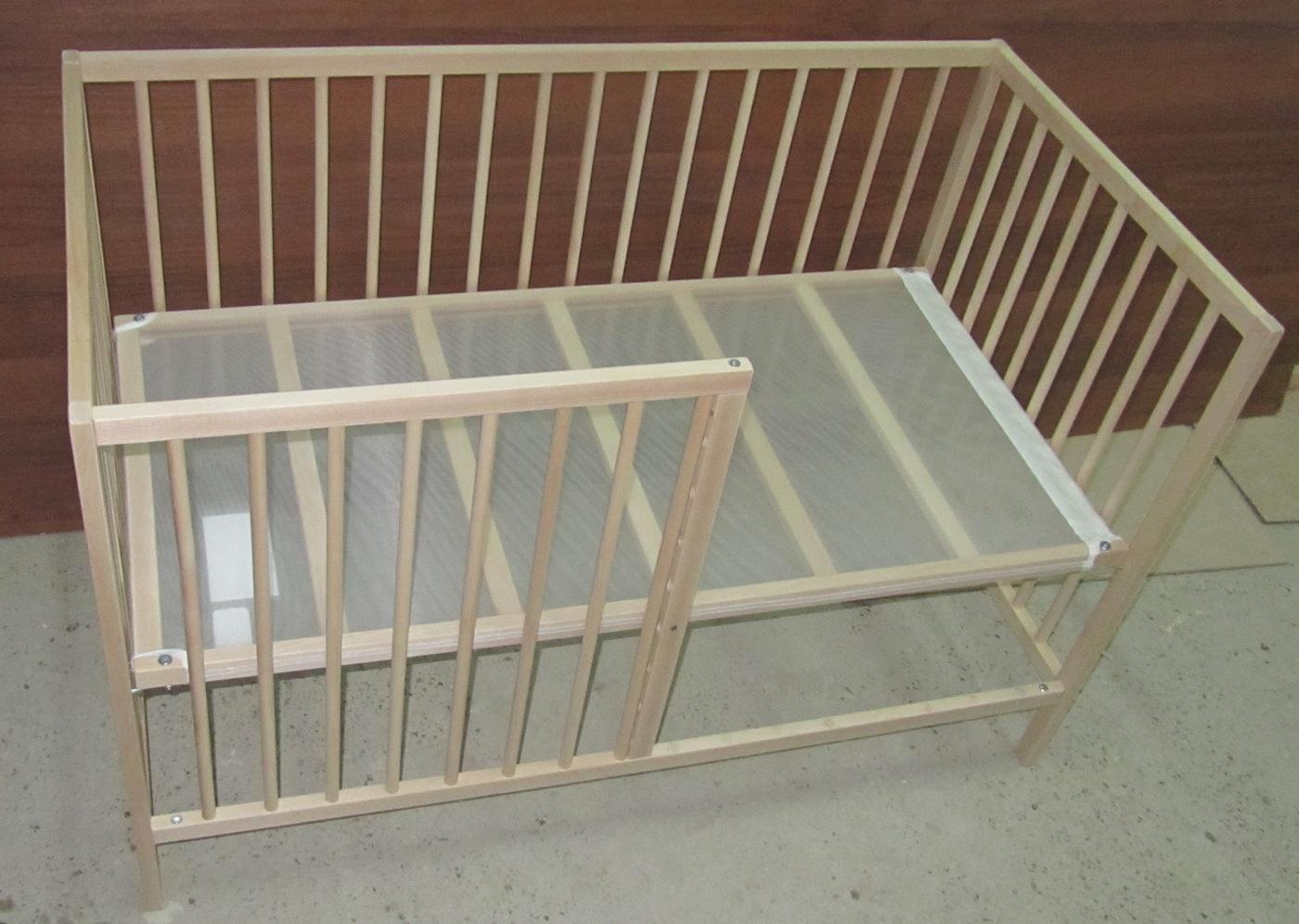 Модернизация детской кроватки своими руками 92