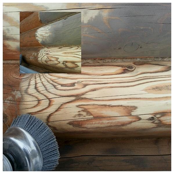 1024 X 1024 621.7 Kb Отделка деревянных домов: шлифовка,покраска,конопатка,теплый шов (фото).