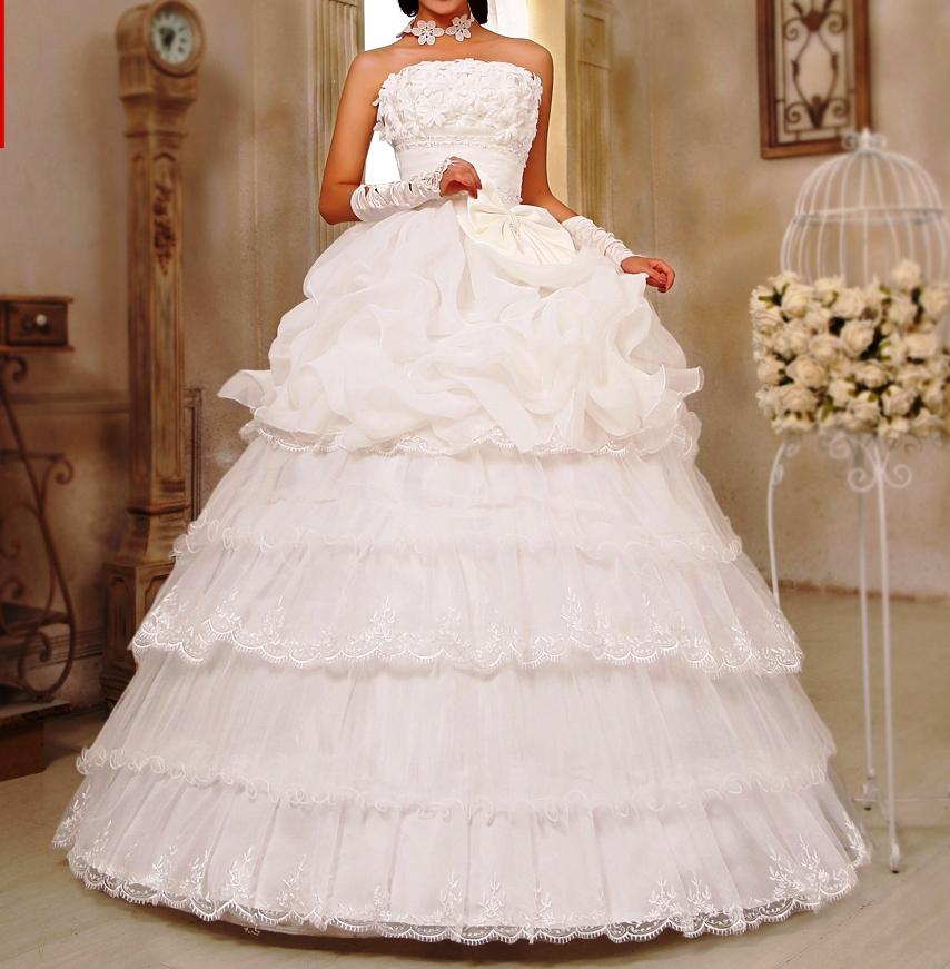 свадебные платья оп