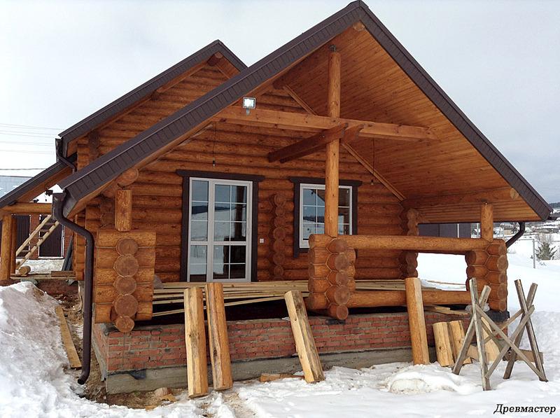 900 X 672 192.4 Kb Строительство деревянных домов и бань ( фото)