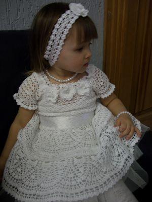 схема вязание костюма спицами до года на девочку