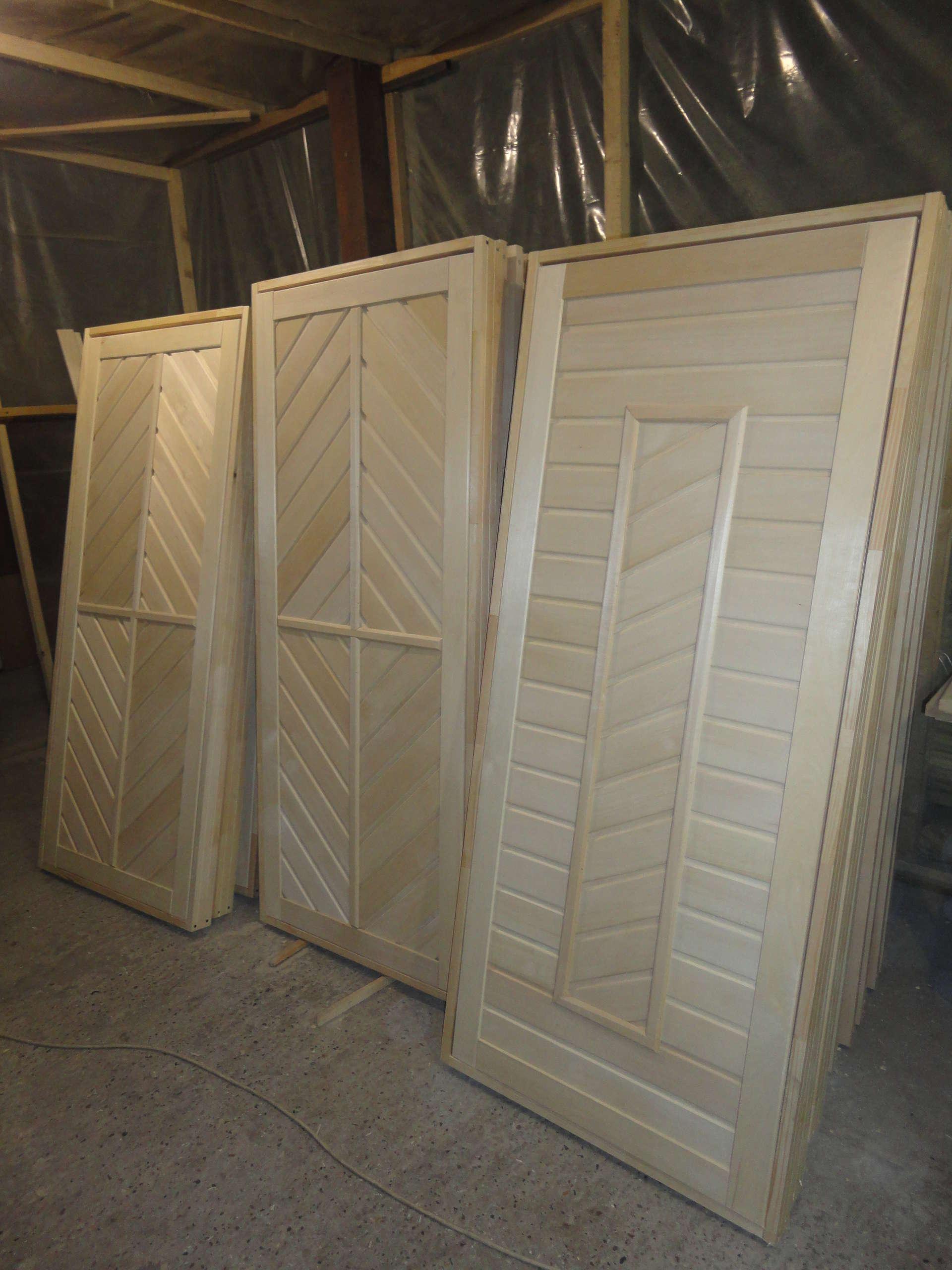 Двери для бани своими руками из вагонки
