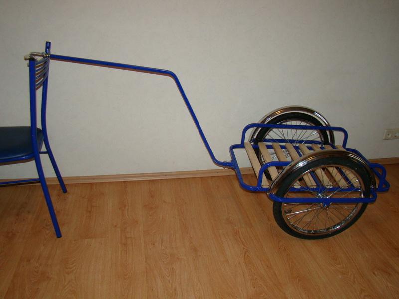 Тележки для велосипеда своими руками 88