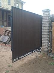 960 X 1280 358.1 Kb ворота въездные (откатные, распашные, секционные, калитки, фото)
