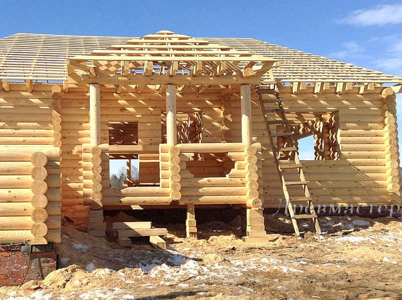 900 X 672 268.7 Kb Строительство деревянных домов и бань ( фото)