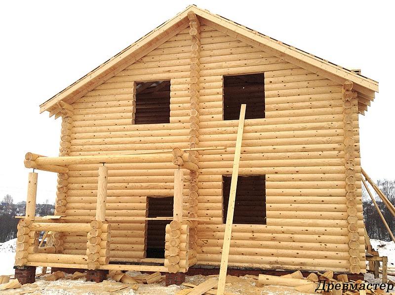 900 X 672 266.6 Kb Строительство деревянных домов и бань ( фото)