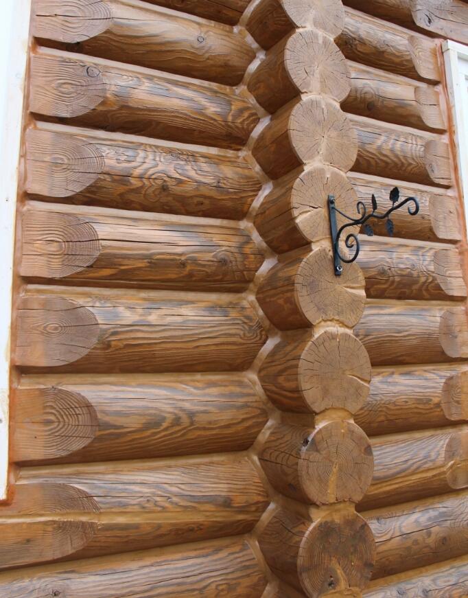 Фото деревянных срубов домов