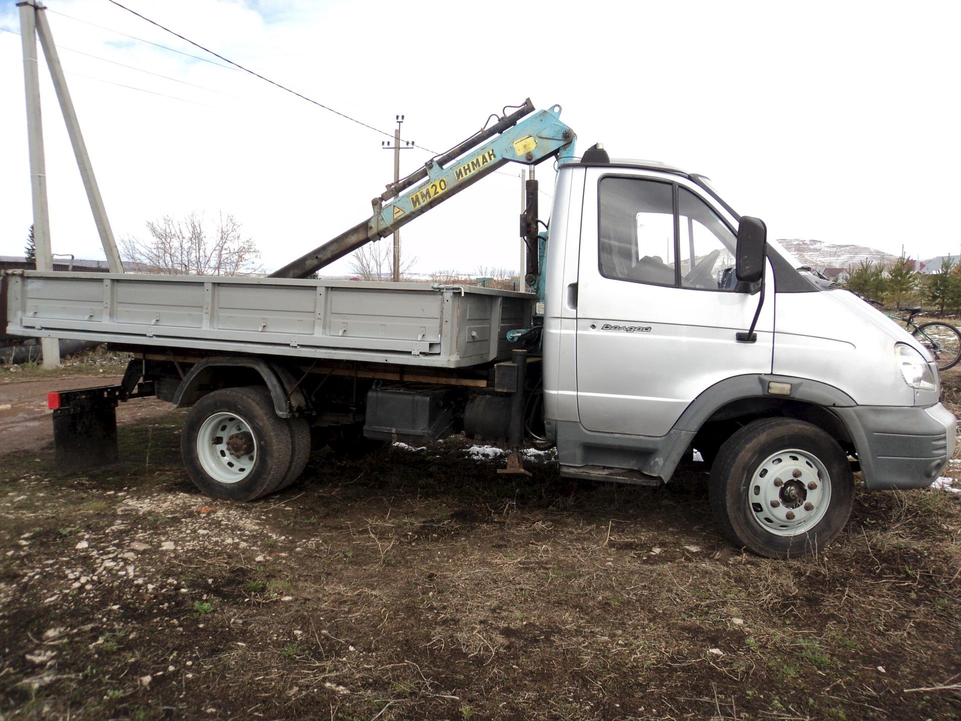 Цены на спецавтомобили ГАЗ-331 6 Валдай (самосвал