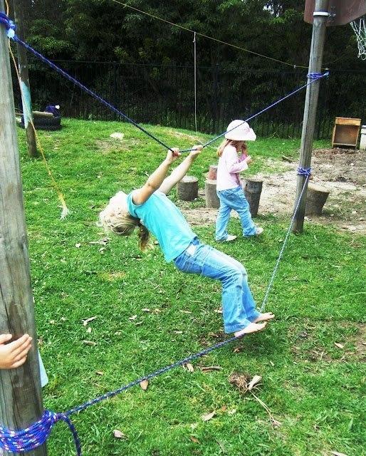 Детская площадка на даче своими руками из дерева