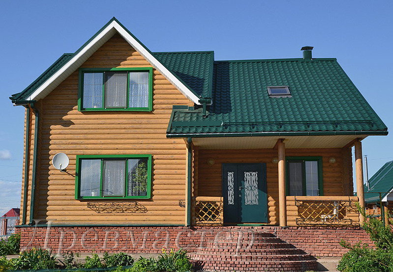 950 X 659 239.2 Kb Шлифовка,покраска,конопатка, герметизация деревянных домов и бань.