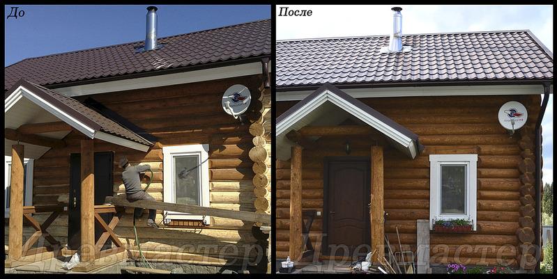 1400 X 703 451.4 Kb Шлифовка,покраска,конопатка, герметизация деревянных домов и бань.