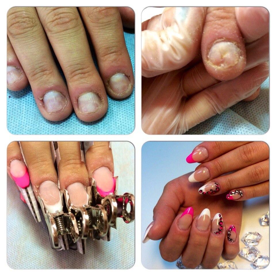 Как наращивать ногти гель лаком