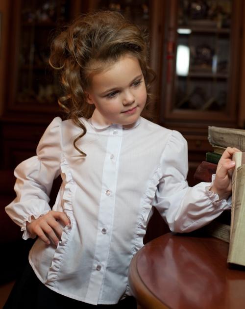 Белые Блузки Для Школьников Девочки Фото