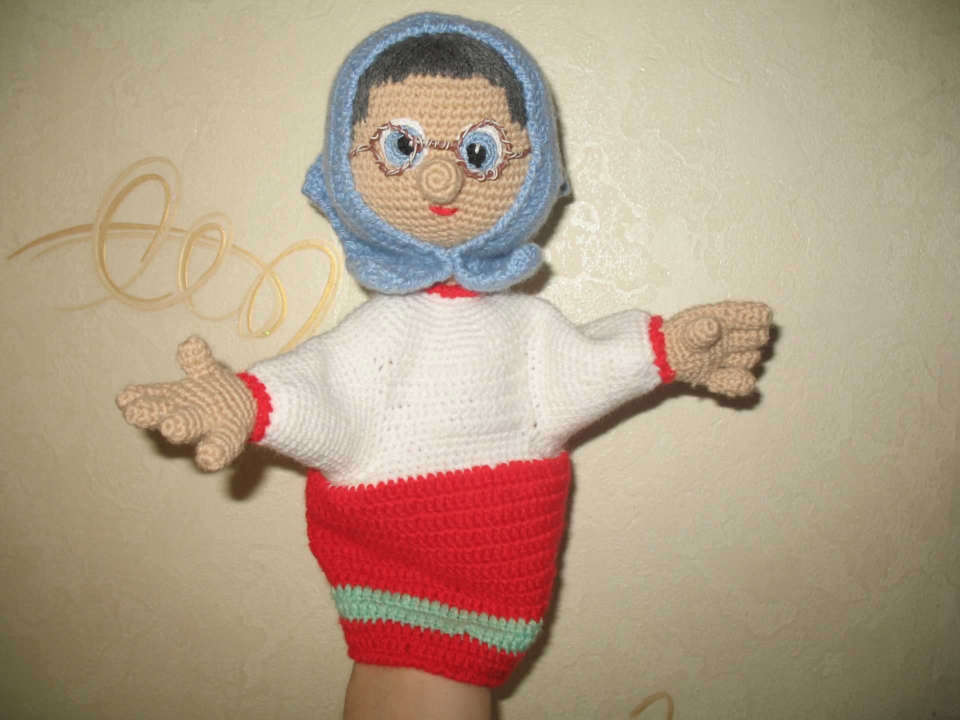 Перчаточная кукла своими руками мастер класс 14