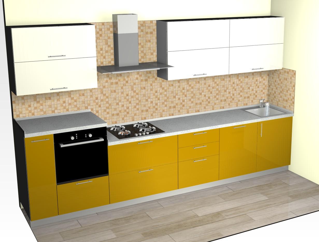 Кухни эмаль. Фото. Реализованные дизайн проекты