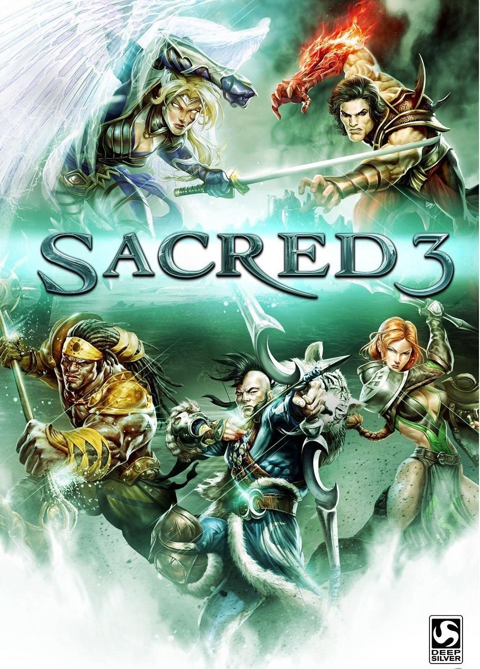 Скачать игру [Обзор] Sacred 3 через торрент