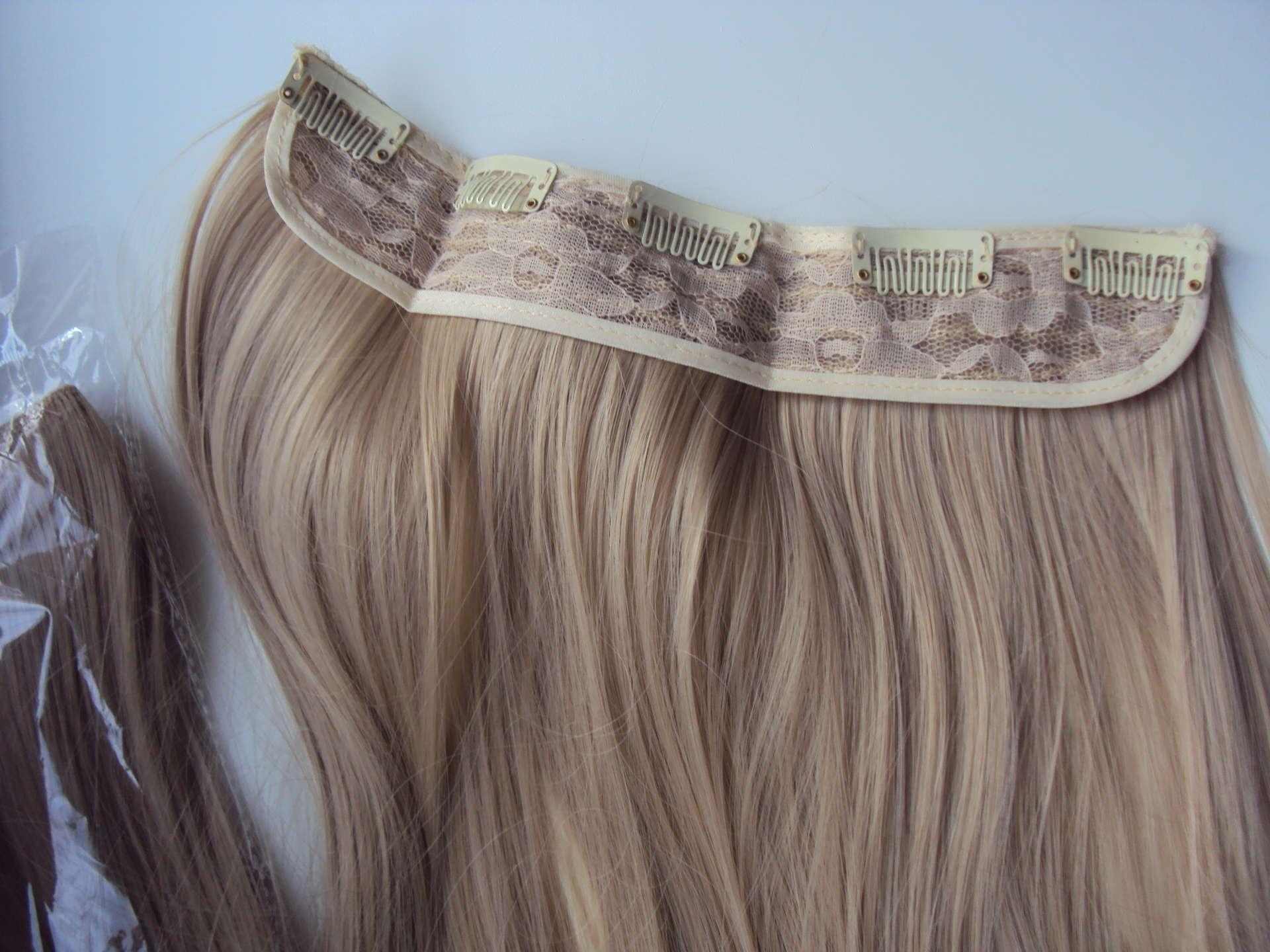 Волосы на заколках, клипсах, трессах — Волосы на заколках
