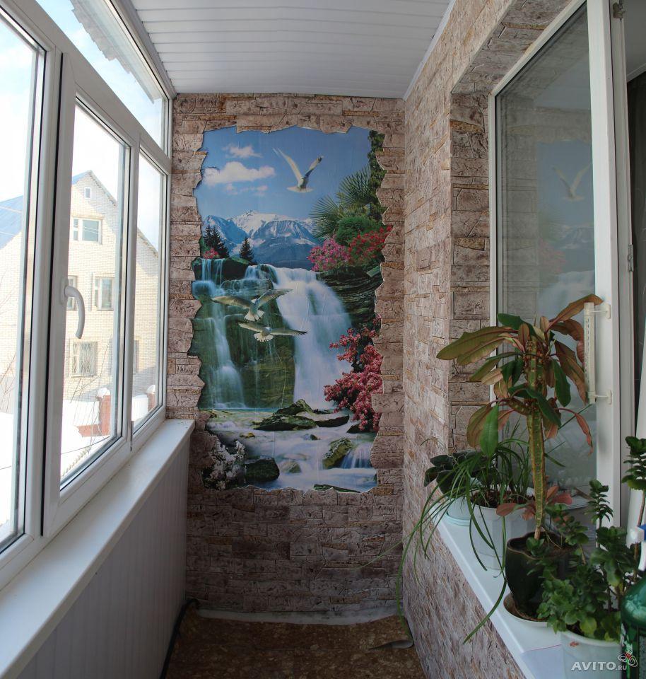 Ремонт балкон большой камень. - оригинальные балконы - катал.