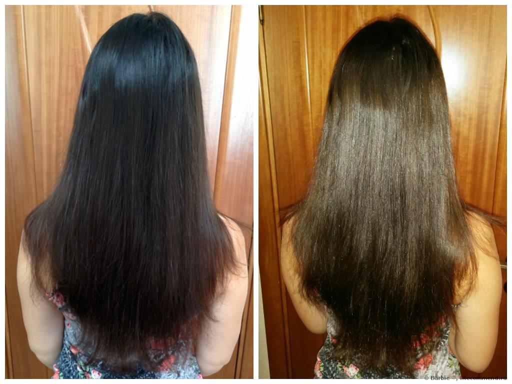 Как осветлить черные волосы в домашних условиях кефиром