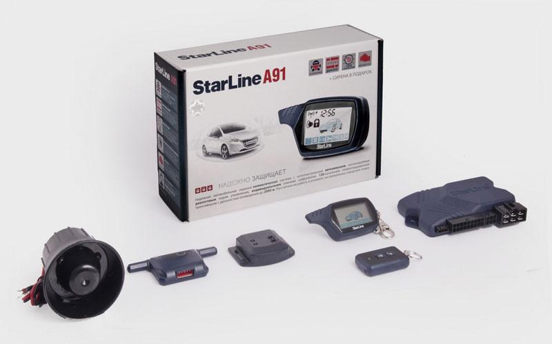 сигнализация Starline A91 инструкция по эксплуатации видео - фото 7