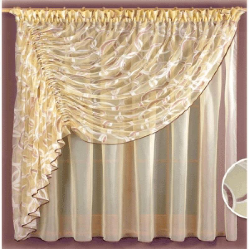 Как сшить шторы из тюля своими руками фото