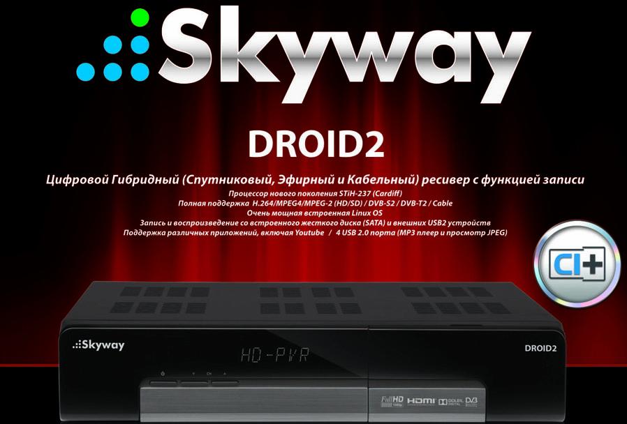 инструкция ресивер skyway light 2