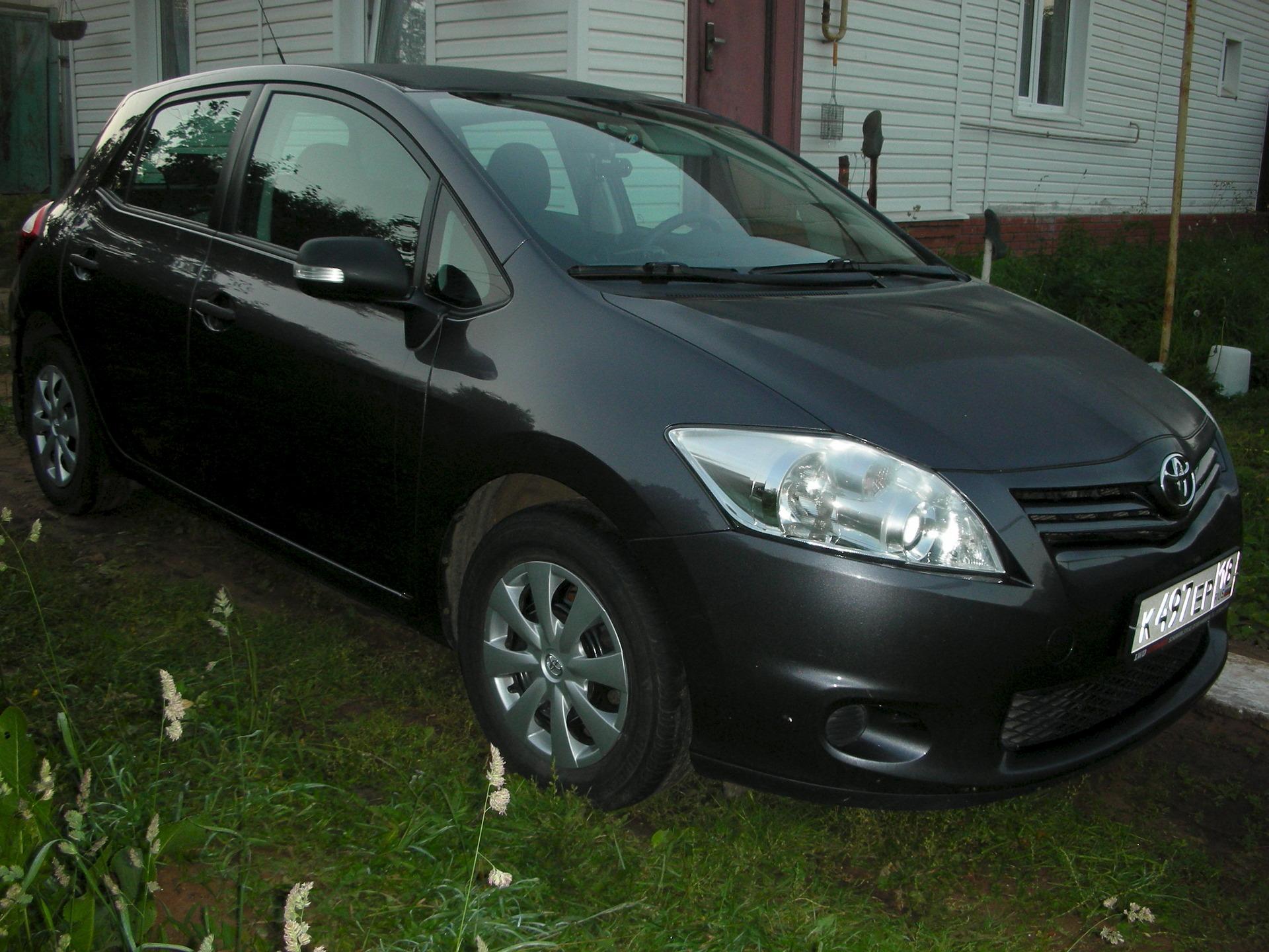 Toyota Auris - технические характеристики и комплектации