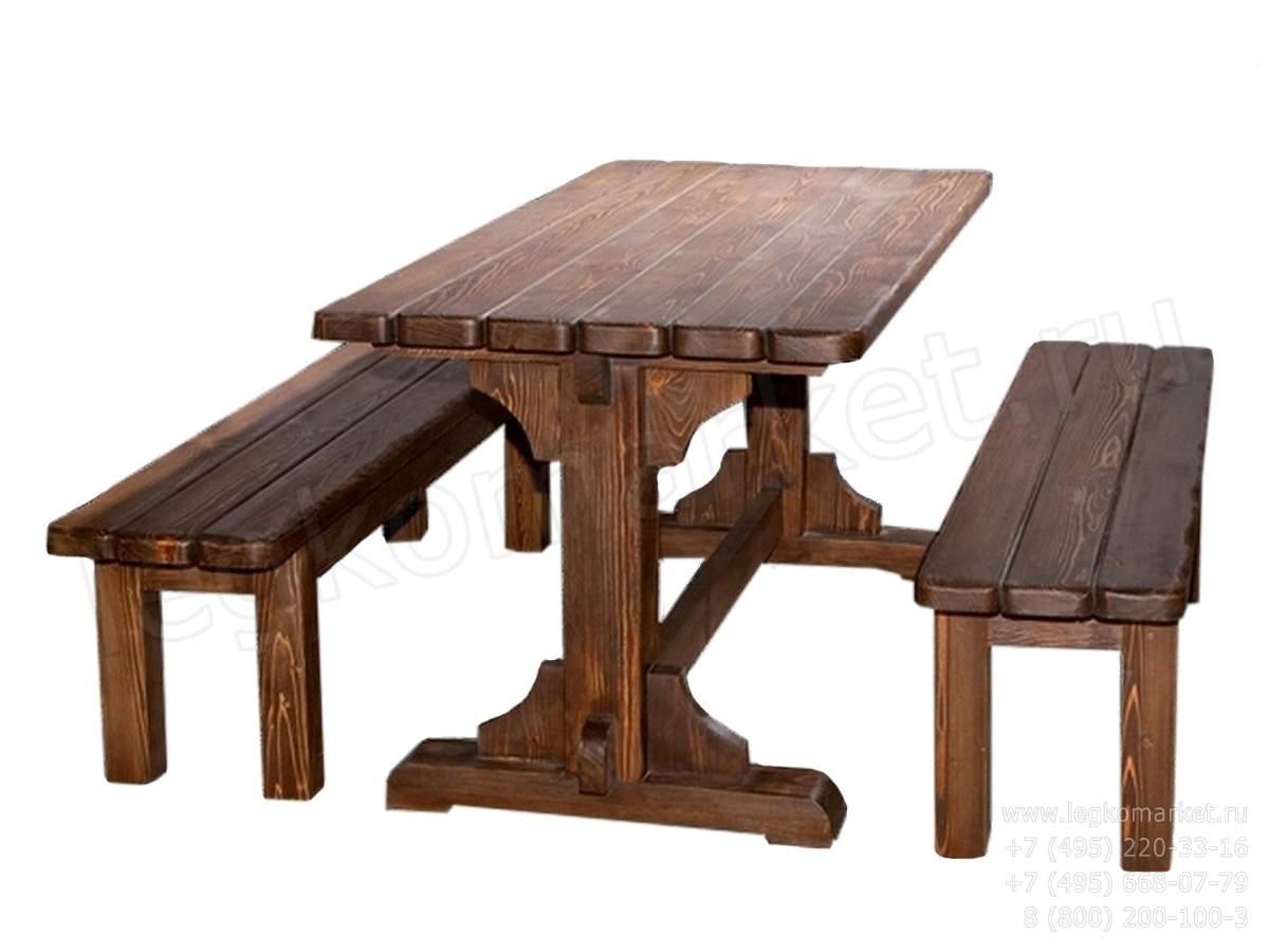 Стол из массива дерева чертежи