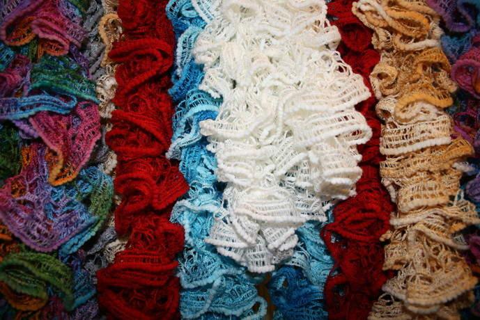 Пряжа чтобы связать шарф крючком