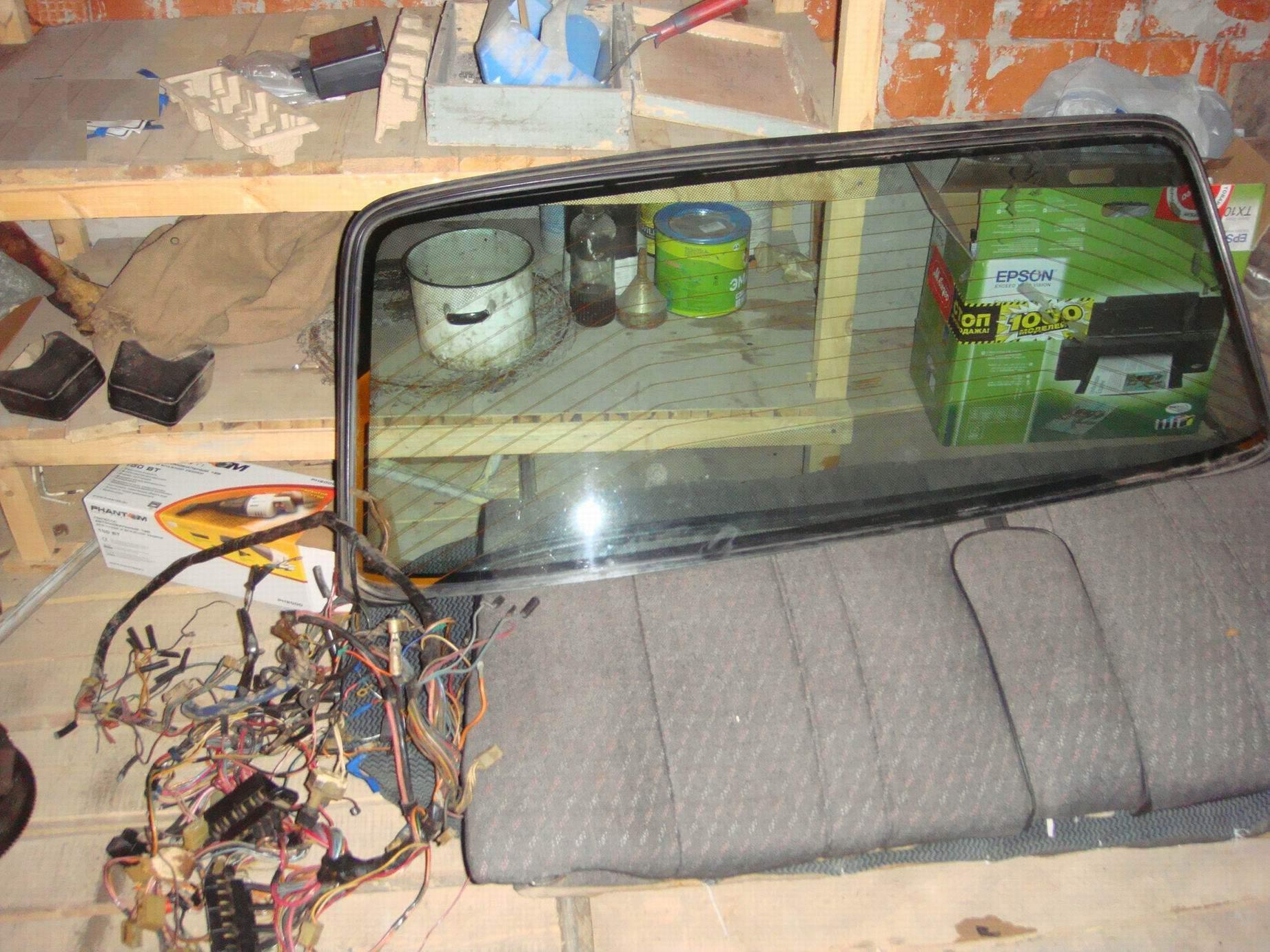 351Ваз 2106 сделать обогрев заднего стекла своими руками