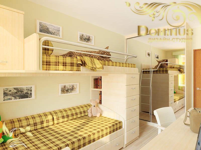 Дизайн комнату 10 метров