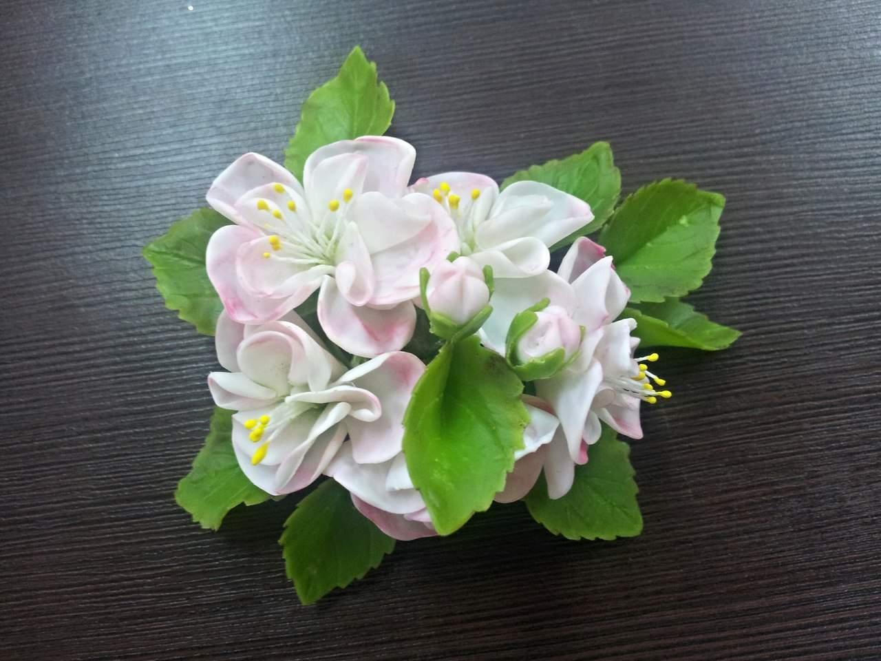 Цветы холодный фарфор мастер классы