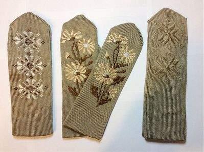 797 X 595 116.2 Kb 800 X 598 135.8 Kb Варежки с ручной вышивкой. Красивые, теплые, качественные.