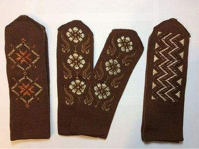 798 X 596 97.5 Kb Варежки с ручной вышивкой. Красивые, теплые, качественные.