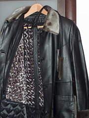 1920 X 2559 848.6 Kb Кожаное пальто с жилеткой