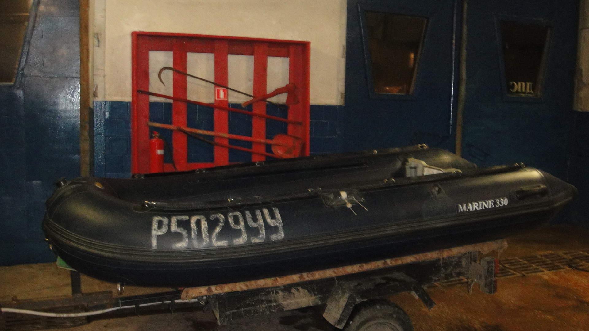 лодка экспедитор 330