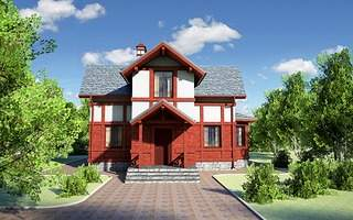 1120 X 700 1020.3 Kb Проекты уютных загородных домов