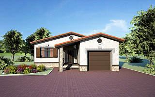 1280 X 800 1008.3 Kb Проекты уютных загородных домов