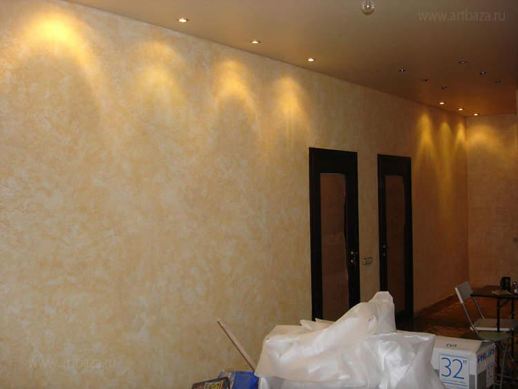 квартир покраска стен фактурными красителями венецианка расценки эта тема