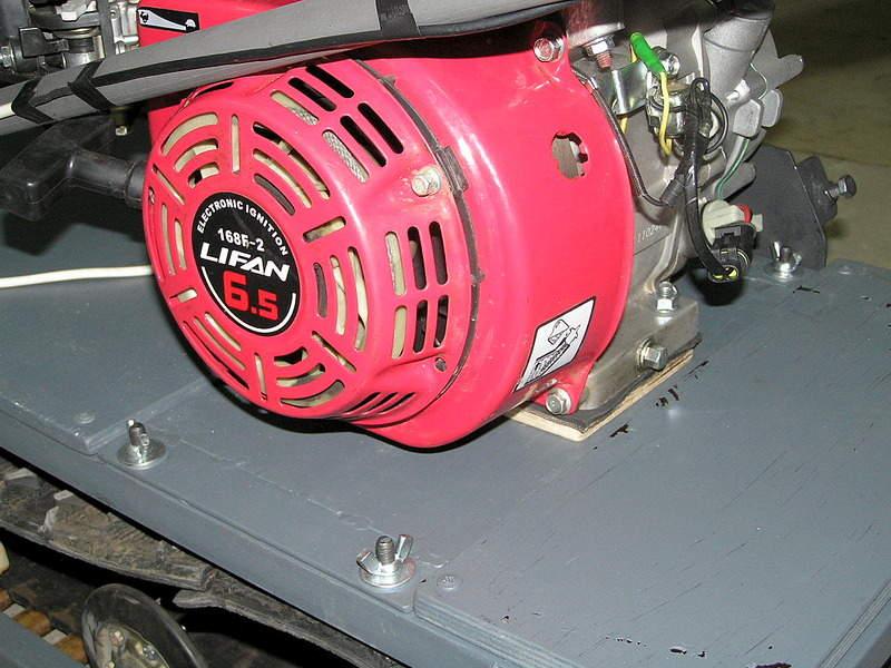 Сцепление для двигателя лифан 105