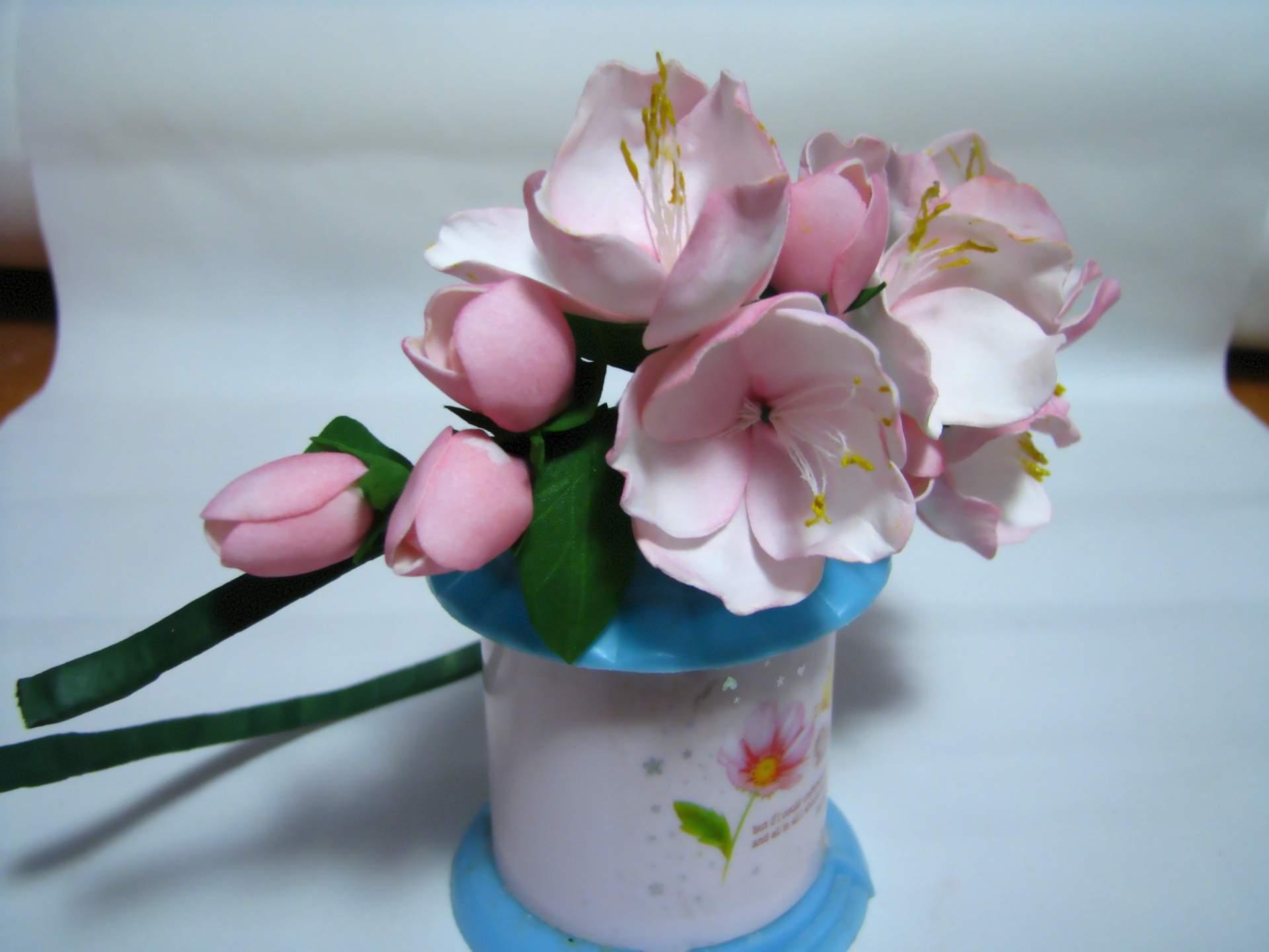 Орхидеи из фоамирана мастер класс с пошаговым