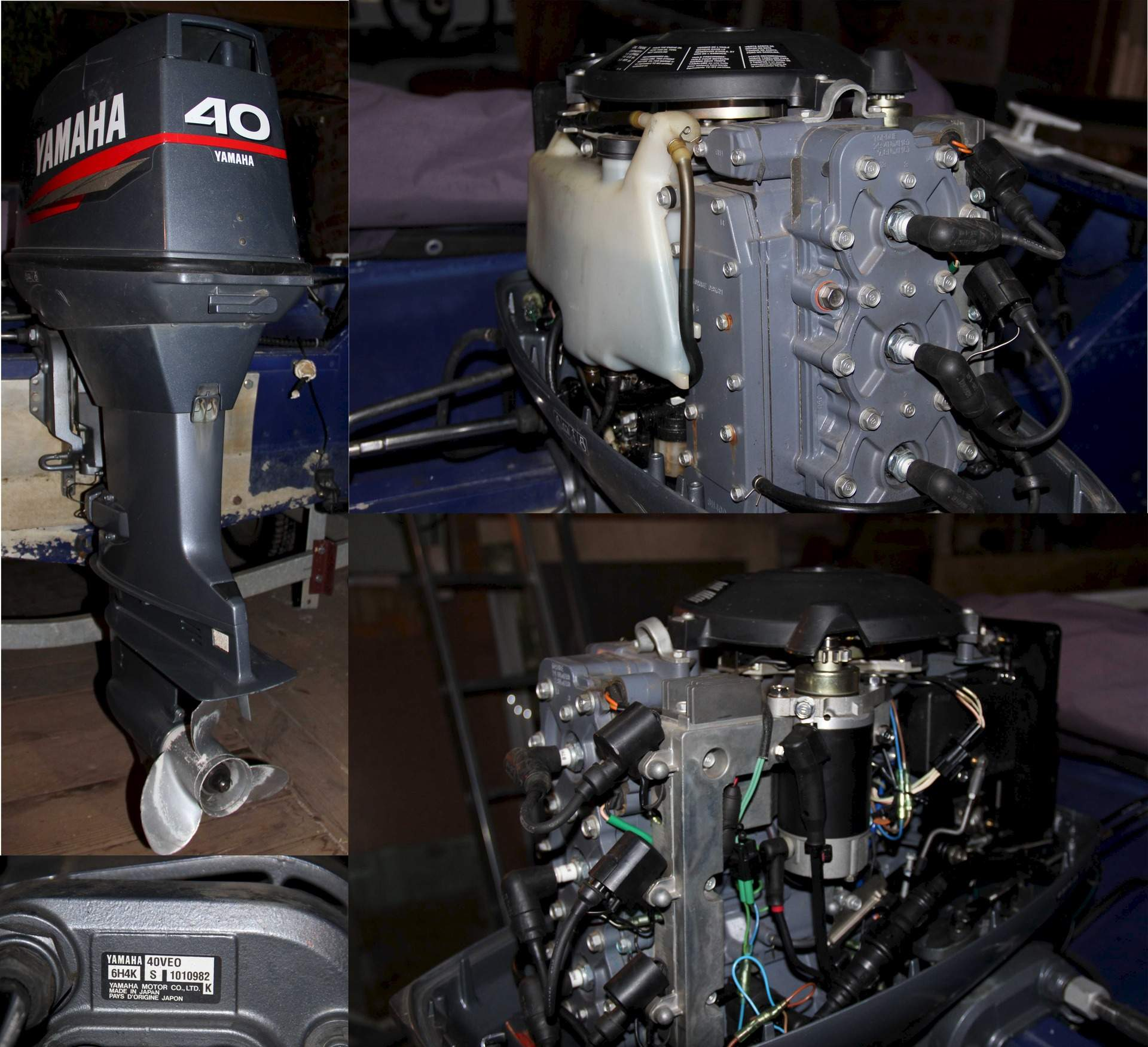 таблица обкатка лодочного мотора ямаха 40 веос