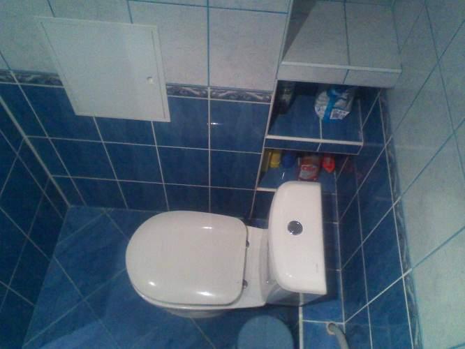 Скрыть трубы в туалете своими руками